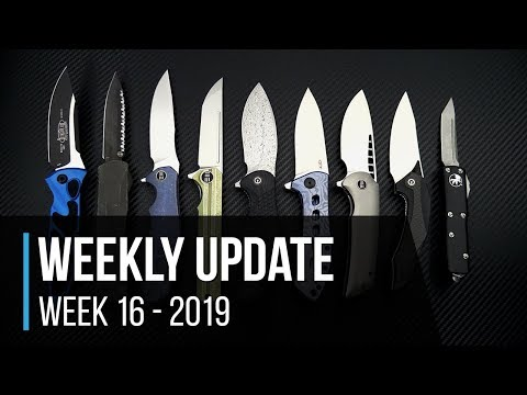 Weekly Update 16 - 2019: WE Knives 037, Syncro, Malice, CIVIVI Isham Plethiros, ZT 0801TIBLU Sprint