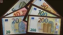 Die neuen 100 Euro und 200 Euro Banknoten