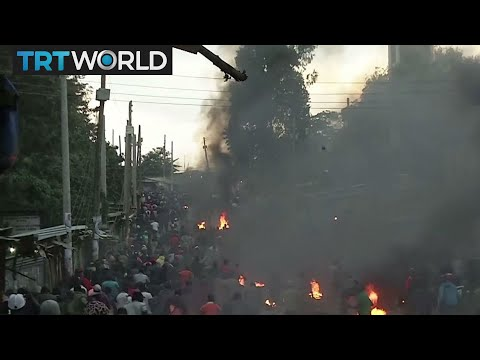 Kenya Votes: Police and protesters clash in parts of Kenya