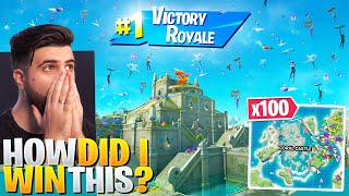 I Told 100 Streamsnipers To Drop Coral Castle and WON! (CRAZY) - Fortnite Season 3