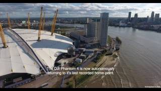 DJI Phantom 4 Drone Near-Miss Crash! - Obstacle Avoidance / Myriad 2 VPU In Action