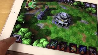Siegecraft TD Hands on video!