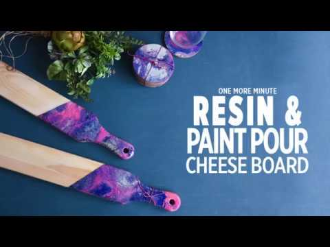 One More Minute: Resin Cheese Board