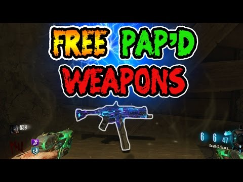 Trading Table How To Pack A Punch Weapons For Free In