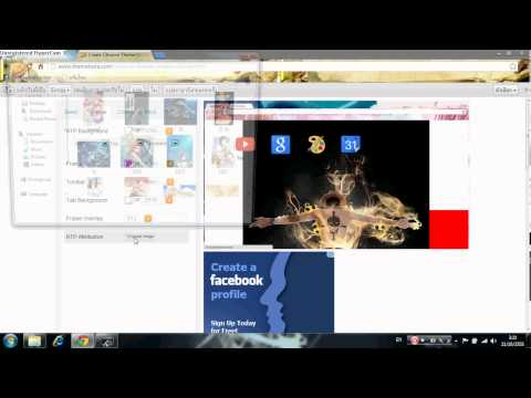 สอนการทำธีมGoogle Chrome