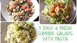 Sommer Salate Mit Pasta | Gesund, Frisch, Yummy