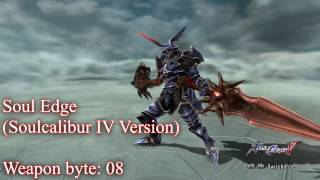 "SOULCALIBUR V - ""Unobtainable"" Weapons"