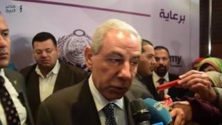 مصر العربية | وزير الصناعة يشيد بالمشروعات  الصغيرة