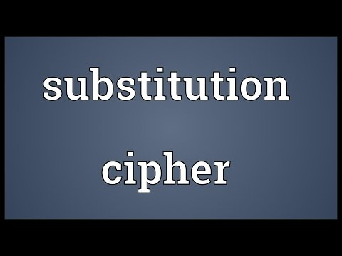 Header of Substitution cipher