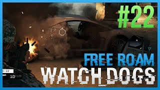WATCH DOGS Free Roam Gameplay #22 - Indestructible (WatchDogs Single Player Free Roam) [PC 1080p]