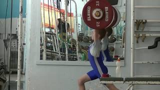 Ксенофонтов Матвей, 13 лет, вк 34 Толчок  36 кг три подхода