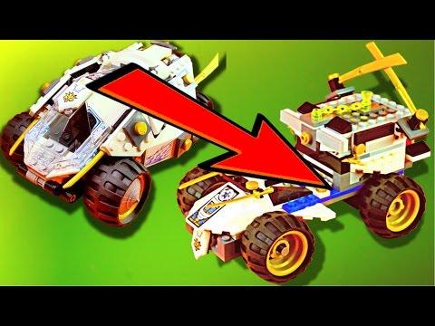 LEGO Ninjago 70588 Titanium Ninja Tumbler ALTERNATIVE BUILD