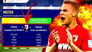 FIFA 18 : WENN JEDE TRANSFERPHASE SO ABLÄUFT ... 💰💰 Augsburg Sprint To Glory