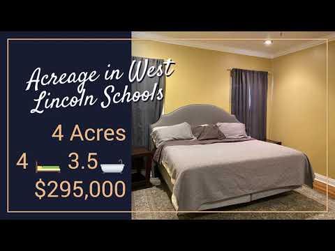 Acreage in West Lincoln Schools