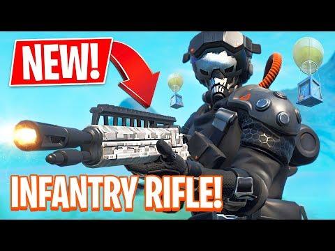 Fortnite NEW Legendary Infantry Rifle & Supersonic Pilot Skin! (Fortnite Battle Royale)