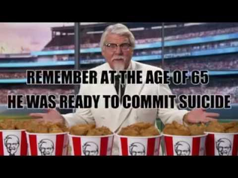 YOU WON'T BELIEVE |KFC founder's short life story #inspirational video