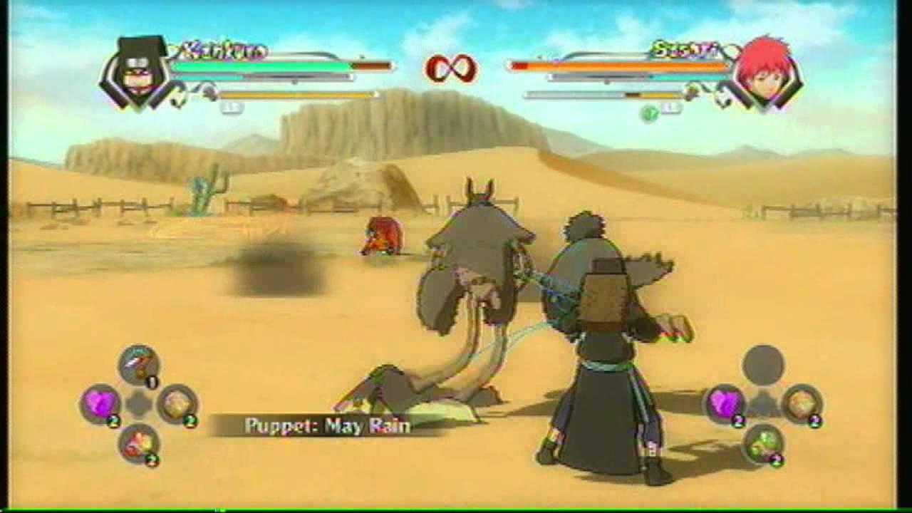 Kankuro (w/ Sasori) vs. Sasori - Naruto Shippuden Ultimate ...