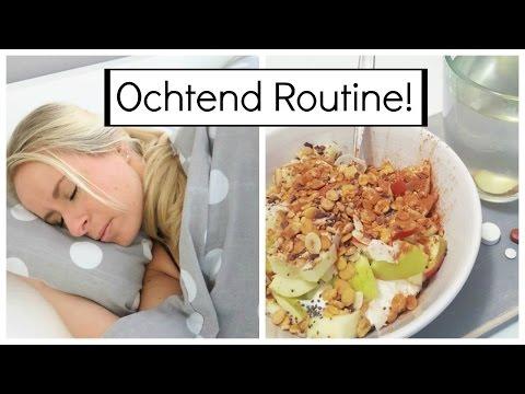 Gezonde Ochtend Routine