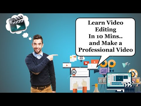 Video Editor: Learn video editing in 10 mins and make Professional Video