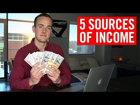 My 5 Passive Income Streams (I Earned $24,000 Last Month!) thumbnail