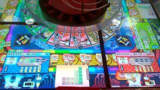 ギョー転ガッポリすし〇たくさん掛けてたくさん負ける、、、笑〇ゲーセンでコインゲーム