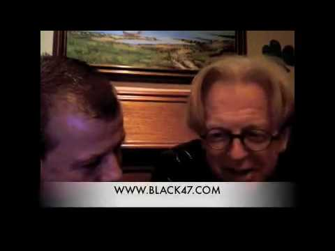 Larry Kirwan (Black 47) interview on Gossip in the Garden