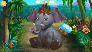 Fun Animal Care Kids Games - Jungle Animal Hair Salon - Bath, Makeup, Dress Up, Fun Children Games