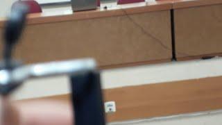 Palestra sobre Segurança do Voto Eletrônico ministrada pelo Sr. Elmano A. de Sá Alves, Assessor da Secretaria de Tecnologia da informação do TSE.