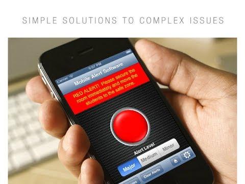 School Emergency Alert System Mobile Alert Software