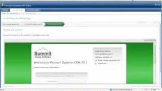 Microsoft Dynamics CRM 2011 Online: Lead Capture Demo
