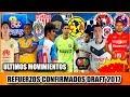 Ultimos Movimientos Confirmados DRAFT 2017 Liga MX