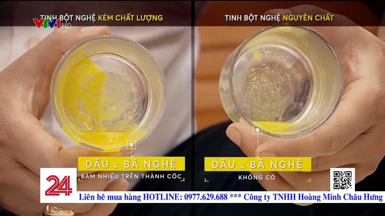 Cách phân biệt tinh bột nghệ nguyên chất – CỰC CHUẨN của  Đài truyền hình Việt Nam – VTV1