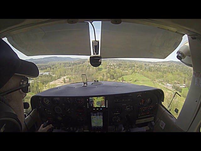 S86 Sky Harbor WA landing
