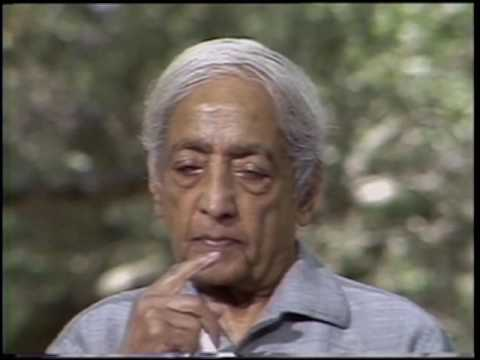 What is necessary to allow a sustained clarity?   J. Krishnamurti