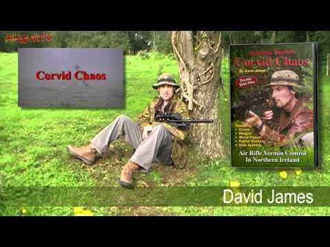 AIR RIFLE HUNTING DVD - CORVID CHAOS