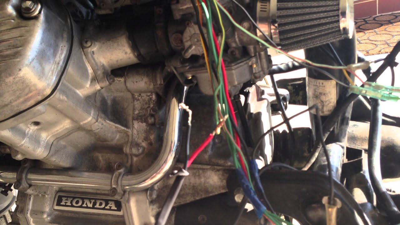 Vt 750 Wiring Diagram Cx500 Wiring Woes Youtube