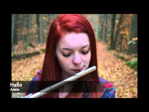 Hello Adele on flute *sheet music in description*