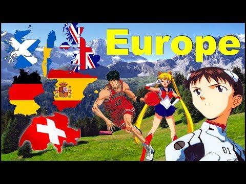 Anime Fans Around The World - Europe