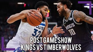 Kings vs Timberwolves Post Game Show | 2018-19 NBA Season