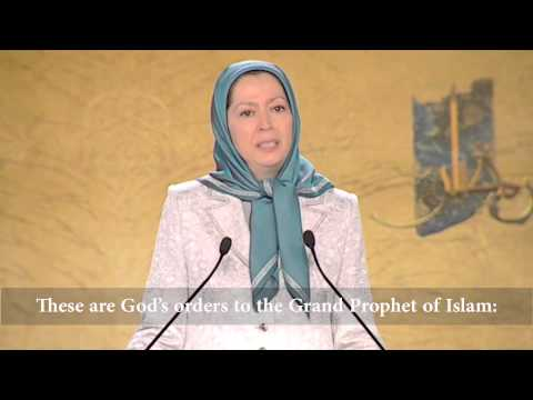 Maryam Rajavi: Freedom, the true essence of Islam- Paris – July 3, 2015