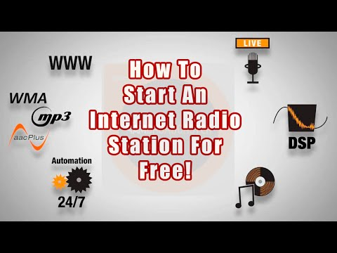 How To Set Up An Internet Radio Station For Free - A SAM Bro