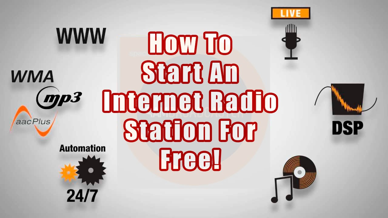 How To Set Up An Internet Radio Station For Free - A SAM Broadcaster  Tutorial