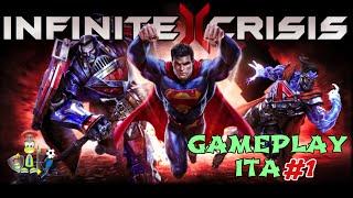 Infinite Crisis - Gameplay ITA: 'Tutorial e prime mazzate con Batman'