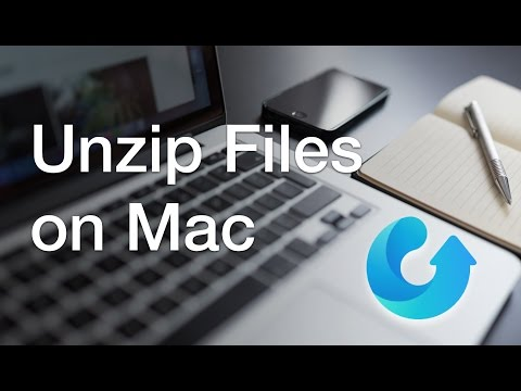 Tutorial: How to unzip files on macOS 2016 [ rar/ zip/RAR