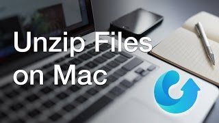 Tutorial: How to unzip files on macOS 2016 [.rar/.zip/RAR/.7z/.gz]