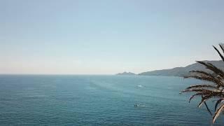 Италия 2019 Дрон. Лигурийское море. Лигурия. Рапалло/Italy 2019 Drone.Ligurian Sea.Liguria.Rapallo