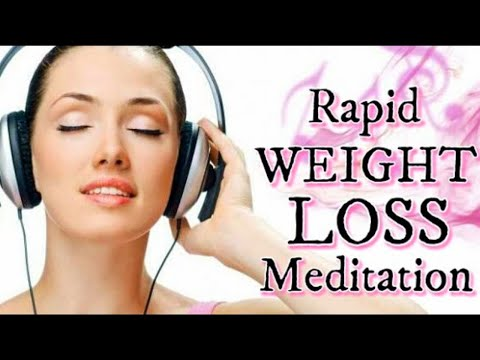 Rapid WEIGHT LOSS Meditation | Lose Weight FAST in 30 Days | Enhanced Subliminal Sleep Meditation