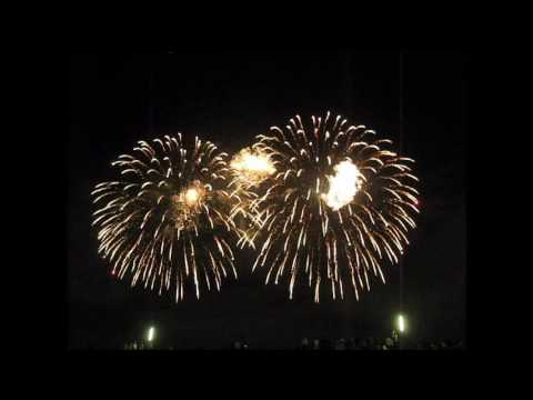 Yodogawa fireworks Osaka city,Kansai region,Japan August,2012 music added