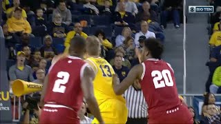 Moritz Wagner's Ball Between Leg Move and Layup vs. Indiana
