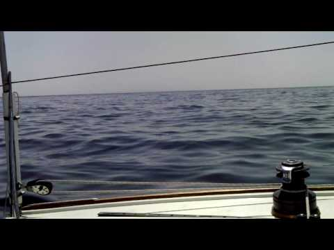 Sailing to Platform Holly